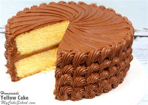 yellow cake moist and delicious marble cake from scratch my cake school