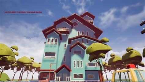 hello neighbour pre alpha remake mod for hello