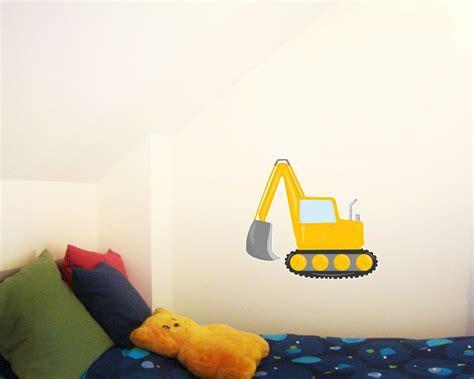 Kinderzimmer Deko Bagger by Wandtattoo Cooler Bagger Als Kinderzimmer Deko Kiddikiste