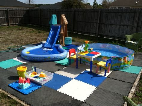 Backyard Water Park - 25 best backyard water parks ideas on