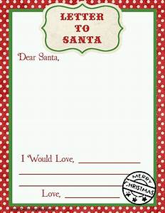 letter to santa free printable download santa advent With interactive santa letter