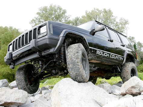 long jeep 129 1001 28 o jeep cherokee xj rough country long arm