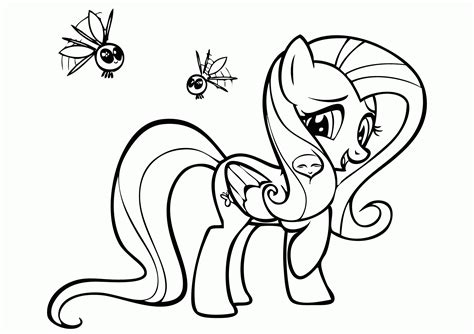 Coloring Kuda Poni by Coloring Page For My Pony Rarity Coloring Home