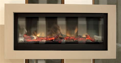 electric fireplaces    vented