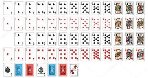deck  cards stock vector
