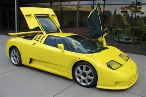Michael Schumacher's Bugatti Eb110 Super Sport For Sale