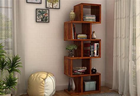 decorative pieces for shelves bookshelves buy wooden bookshelf book rack at