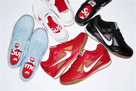 Supreme Shoes by Supreme Works Up A New Version Of The Nike Sb Gato The