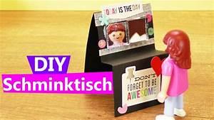 Playmobil Schminktisch Basteln Anleitung Kosmetik Tisch
