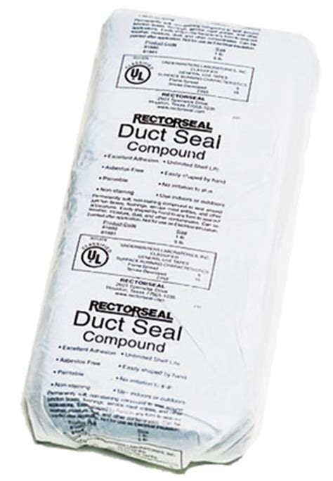 rectorseal duct seal compound rectorseal