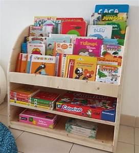 Presentoir Livre Enfant : tutoriel diy biblioth que pour enfant ~ Teatrodelosmanantiales.com Idées de Décoration