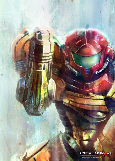 Samus Metroid Tyleredlinart Art Beautiful