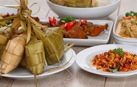 ketupat lebaran enak disantap   masakan  uprintid