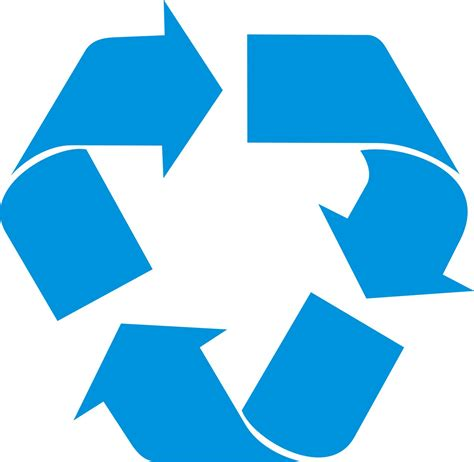 recycling symbol vector clipart best