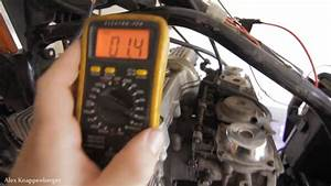 How To Test Ignition Coils On Motorcycles W   Multi-meter
