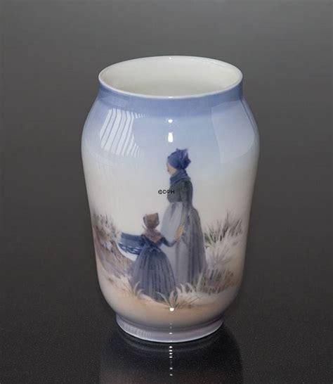 royal copenhagen vases vase with from fanoe royal copenhagen no 1024383