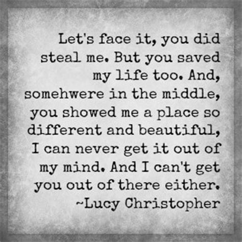 You Have Saved My Life Quotes