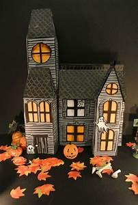 Deco Halloween A Fabriquer : tuto fabriquer une maison hant e pour halloween m6 ~ Melissatoandfro.com Idées de Décoration