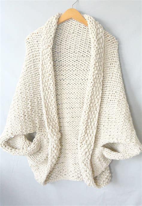 sweater knitting pattern easy knit blanket sweater pattern in a stitch
