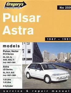 Nissan Pulsar Vector N13 Holden Astra Ld 1987 1991
