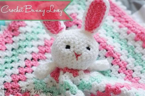 Crochet Bunny Lovey · How To Make Rabbit Plushie · Yarncraft On Cut Out + Keep Crochet Baby Blanket With Hearts Weighted Adhd Fitted Queen Electric Personalized Toddler How To Easy Pond Weed Big Thick Blankets Round Pattern