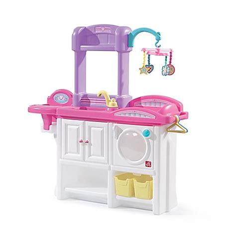 baby alive changing table step2 love care deluxe toy nursery www buybuybaby com