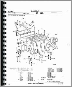 International Harvester 674 Tractor Engine Parts Manual
