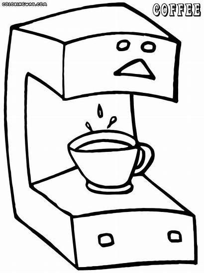 Coffee Coloring Pages Coffee1