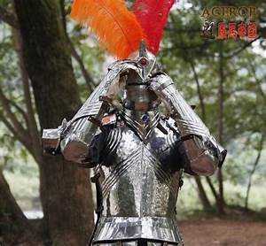 Medieval armor Gothic armor Knight movie show props suit ...