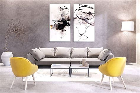 Contemporary Large Artwork Inspirations to Decorate the