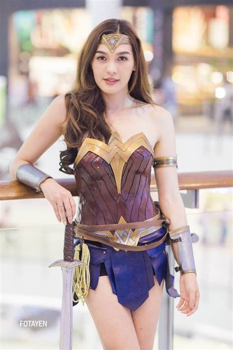 This Lady Is Dubbed As The Asian Wonder Woman Thehiveasia