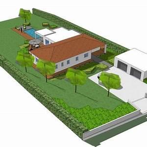 amenagement jardin paysagiste aquatique as de trefle With conception de maison 3d 4 fiorellino paysagiste conception plan et croquis une