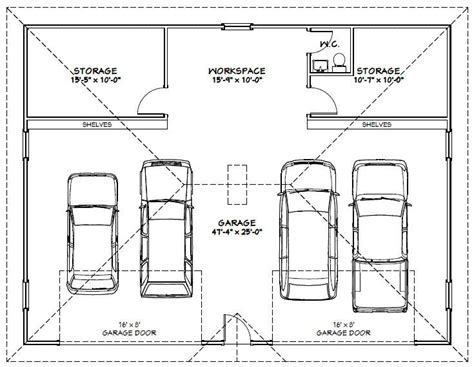 Inspiring Car Garage Dimensions Photo by 17 Best Ideas About Garage Car Lift On 2 Post