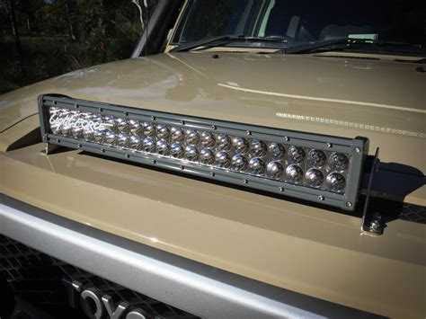 lightforce gen2 led215 and dual row 20 inch light bar