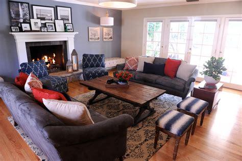 rustic traditional living room vintage rustic in northridge traditional living room Rustic Traditional Living Room