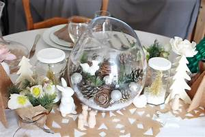 Table De Fete Decoration Noel : une d coration de tables de f tes fleurie concours iba ~ Zukunftsfamilie.com Idées de Décoration