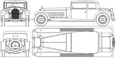Bugatti Veyron Blueprint by 1928 Bugatti Type 41 Royale Weyman Phaeton Blueprints Free