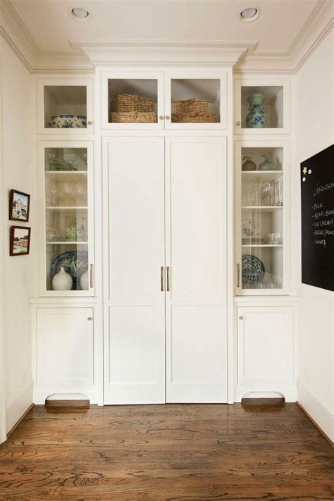 pantry cabinet for kitchen built in desk unit can be closed to disguise as pantry 4090