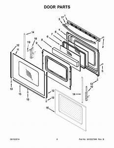 Whirlpool Wfg510s0aw1 Oven Door Glass