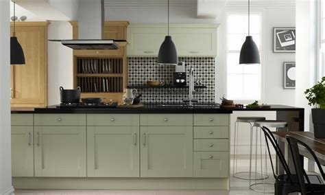 modern country by barker at wren kitchens chic living
