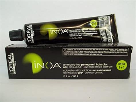 Loreal Inoa Ammonia Free Permanent Hair Color 6.0/6nn 2.1