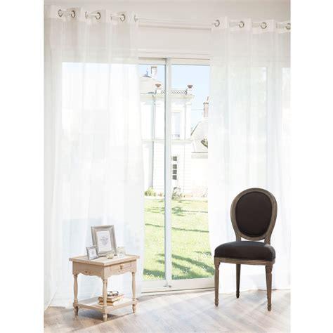 rideau chambre bebe fille rideau à œillets en écru 140 x 250 cm paillettes