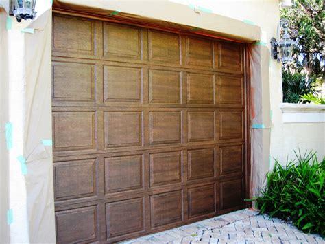 How To Paint A Metal Garage Door array of color inc faux painted metal garage door