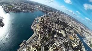 Valletta Malta Drone View