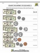 Count The Money To 10 Dollar Homeschool 2nd Grade 2nd Grade Free Math Worksheets Joomlti First Grade Math Worksheets Counting Quarters Simple