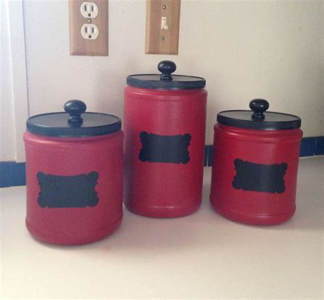 Fabulous folger's coffee plastic container upcycle. Upcycled plastic Folger's coffee cans and made beautiful canisters. By Upcycled_Diva | Upcycled ...