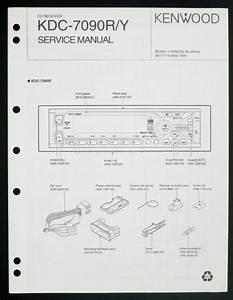 Kenwood Kdc Y Original Car Audio Cd Receiver Service