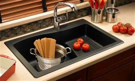 Swanstone Kitchen Sink With Drainboard by Swanstone Quartz Sinks