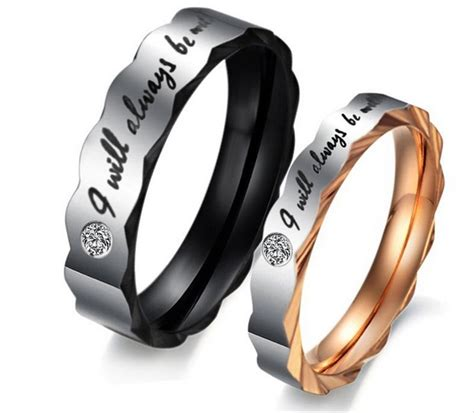 jual cincin couple    stainless steel kado
