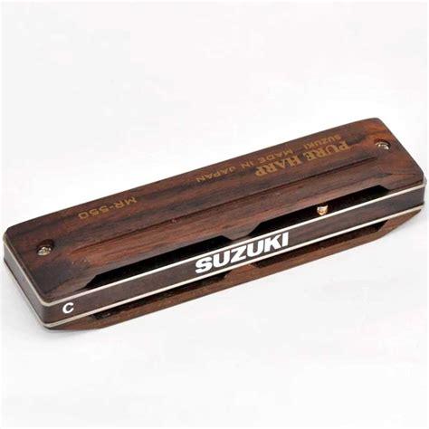 Suzuki Harp by Suzuki Diatonic Harmonica Mr 550 Harp B Wood Cover